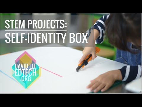 STEM Activity for 2nd Grade: Self Identity Box