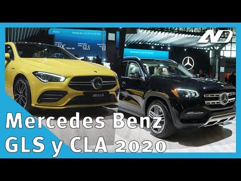 Mercedes Benz GLS y CLA 35 AMG - Primer vistazo - #NYIAS2019