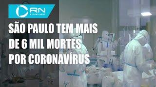São Paulo registra 272 mortes por coronavírus em 24 horas