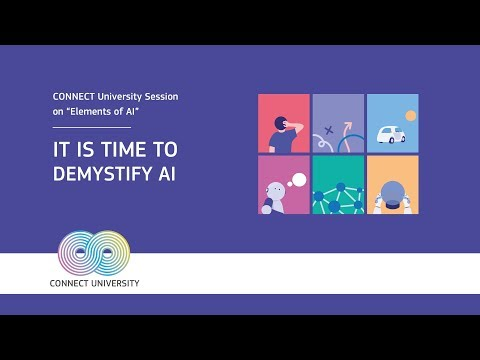 CONNECT University Session on Elements of AI photo