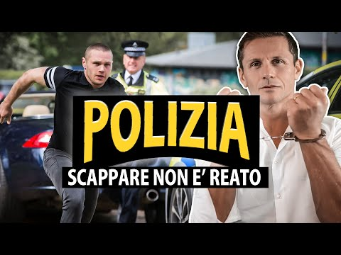 SCAPPARE A PIEDI DALLA POLIZIA: non è reato | avv. Angelo Greco
