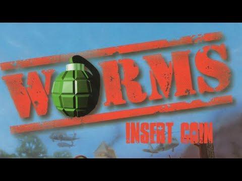 Worms (1995) - PC - Partida vs 3 Computer teams