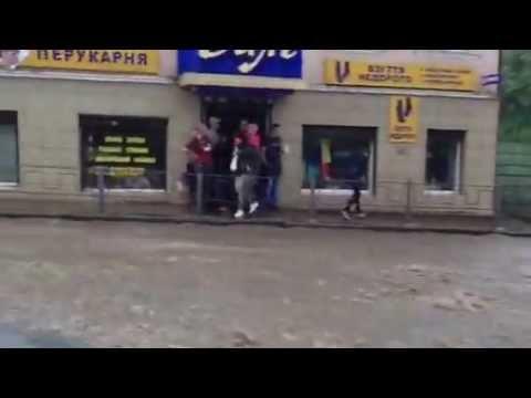 Чернівці після зливи. 25 травня 2013. Вулиця Руська с. 3