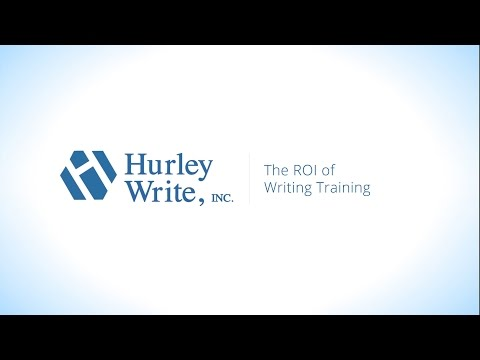 The ROI of Writing Training