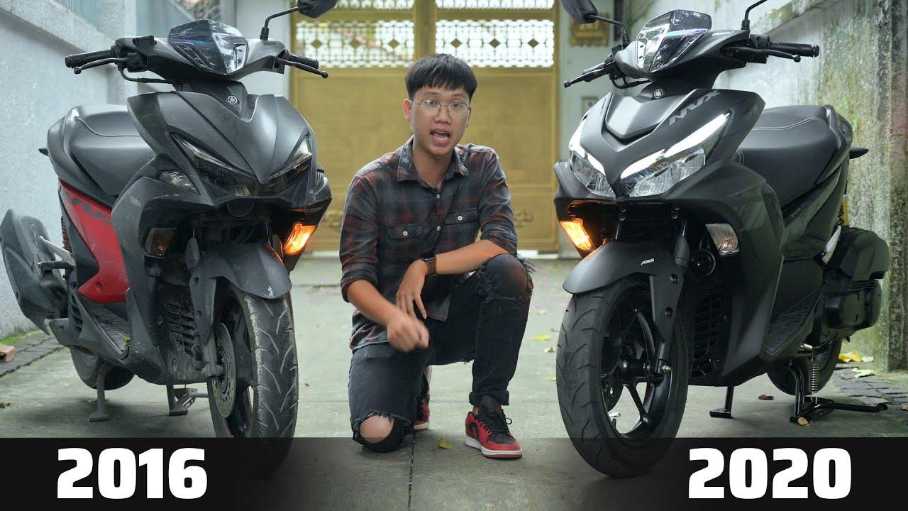 So sánh: Yamaha NVX 2020 & 2016