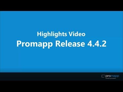 Promapp Release 4.4.2 Highlights Video