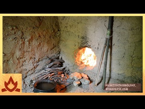 Primitive Technology: Chimney and pots Poster