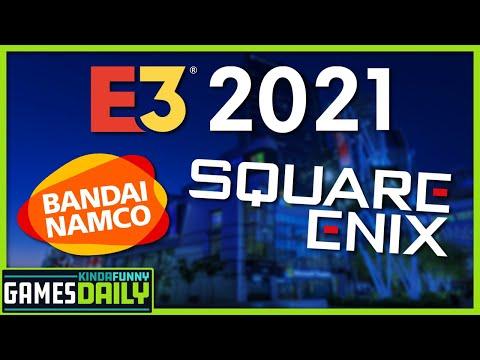 E3 Adds Square Enix, Bandai Namco, More - Kinda Funny Games Daily 05.06.21