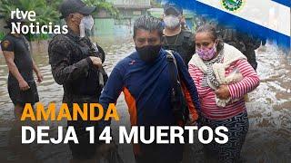 La tormenta tropical AMANDA llega a GUATEMALA y EL SALVADOR.