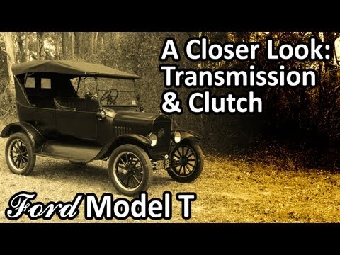 My 1925 Ford Model T - A Closer Look: Transmission & Clutch