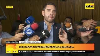 Pedro Alliana sobre financiamiento político