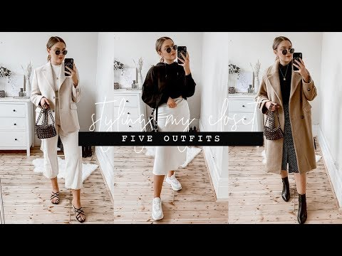 FIVE OUTFITS ALREADY IN MY WARDROBE | I Covet Thee