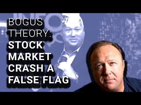 Conspiracy Theorists: Stock Market Crash a False Flag to Hurt Trump