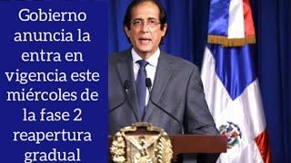 La República Dominicana entra este miércoles en la fase 2 de la reapertura gradual desescalada