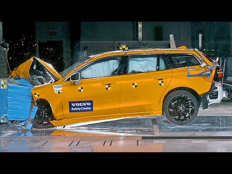 Volvo V60 (2019) CRASH TEST