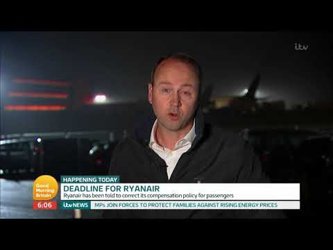 connectYoutube - Ryanair Told to Correct Compensation Policy for Passengers | Good Morning Britain