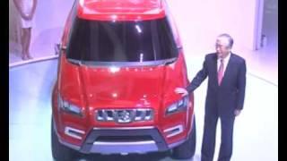 Maruti XA Alpha- Unveiling at Auto Expo 2012