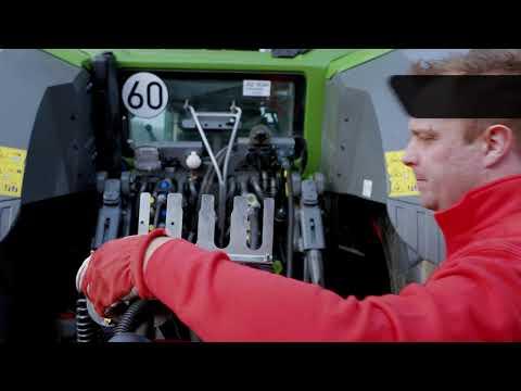 QuickStart – Connecting to tractor – Väderstad Spirit