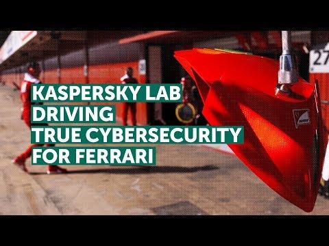 KASPERSKY LAB DRIVING TRUE CYBERSECURITY FOR FERRARI