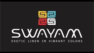 SWAYAM - Exotic Linen In Vibrant Colors - By Sarita Creations