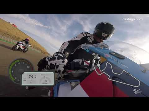 A lap around MotorLand Aragon with GoPro?