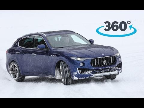Maserati Levante S - Extreme Ice Test [360° Video]