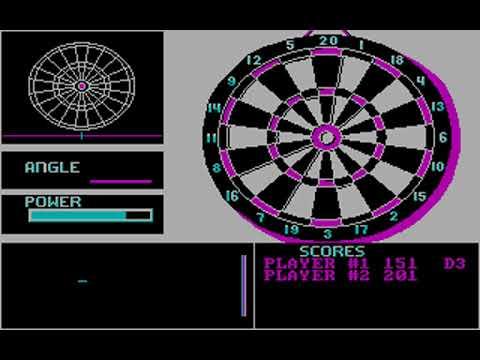 Darts (Christopher Hoskovec) (MS-DOS) [1989]