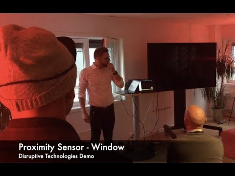 IoT Demo performed by Webstep