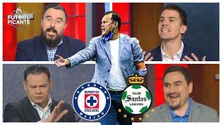 Álvaro Morales y Sergio Dipp dicen al CRUZ AZUL cómo salir en la vuelta ante Santos   Futbol Picante
