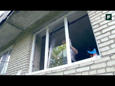 Подготовка проёма и монтаж пластикового окна в кирпичном здании // FORUMHOUSE