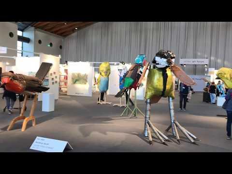 ARTIMA auf der art KARLSRUHE 2019 - Ein Messerundgang präsentiert von ARTIMA