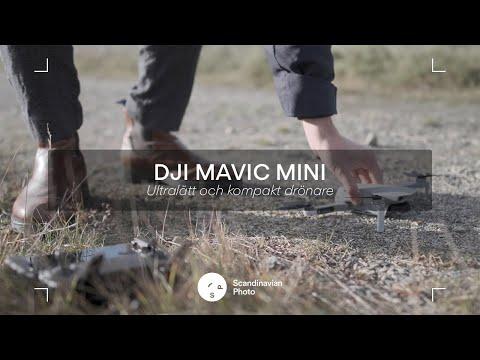 DJI Mavic Mini – ultralätt och kompakt drönare