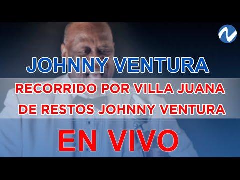 El último adiós a Johnny Ventura