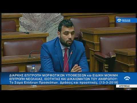 Α. Μεγαλομύστακας /Επιτροπή,Βουλή/13-3-2018