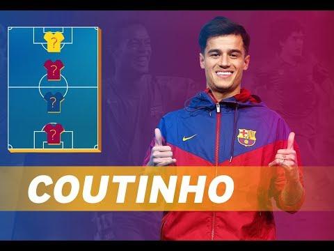COUTINHO | MY TOP 4 (LEGENDS)
