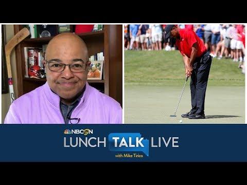 "Tiger Woods' four-championship ""Tiger Slam"" still legendary   Lunch Talk Live   NBC Sports"