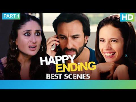 Happy Ending - Best Scenes Part 1 | Saif Ali Khan, Ileana D'cruz, Kalki Koechlin & Govinda