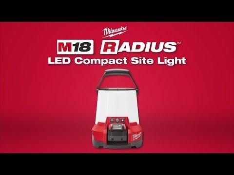Milwaukee® M18 Radius™ LED Compact Site Light