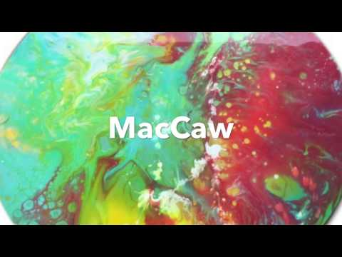 Mac Caw flow painting