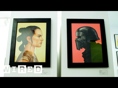 Star Wars Fans Wait for Days to See This Poster Exhibit at SXSW | WIRED