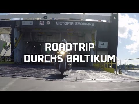 Mit dem Motorrad durchs Baltikum - Kurzversion