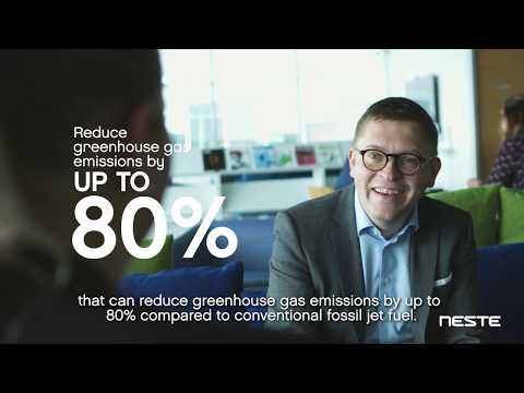For the aviation industry to grow sustainably, measures need to be taken to reduce the aviation-related emissions. Watch the video to learn how Neste is taking part in reducing emissions!