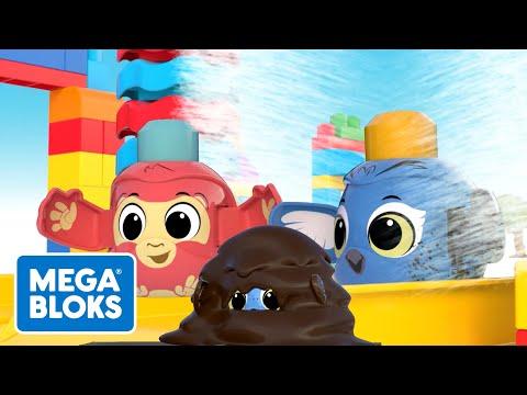 Mega Bloks - Mega-große Autowäsche   Fisher-Price Deutsch   Cartoons für Kinder