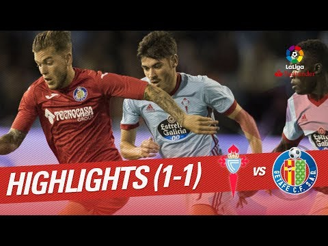 Resumen de RC Celta vs Getafe CF (1-1)