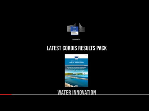 Water innovation: Technological solutions for ensuring Europe's present and future water security photo