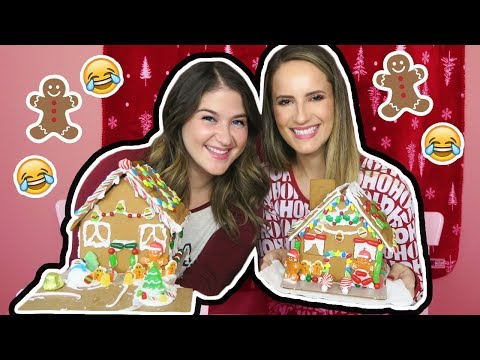 connectYoutube - Gingerbread House Challenge! *EPIC FAIL*