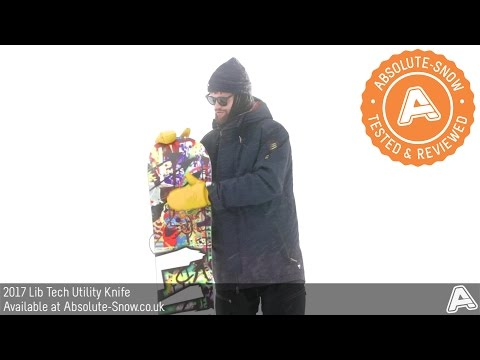 2016 / 2017 | Lib Tech Utility Knife Snowboard | Video Review