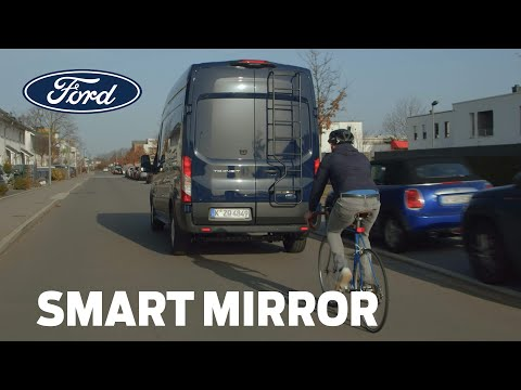 "Ford's New ""Smart Mirror"" Can Help Van Drivers See Through Metal"