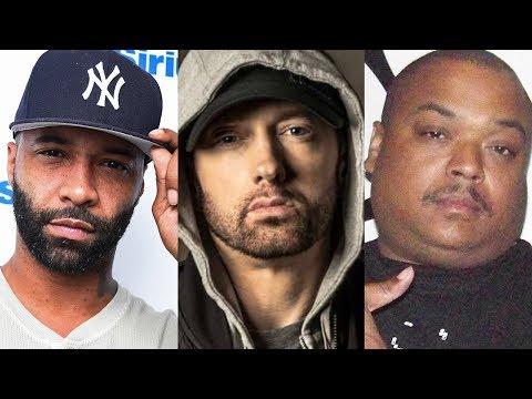 connectYoutube - Eminem DISS Joe Budden on Chloraseptic Remix and Bizarre Goes at Joe Budden Too