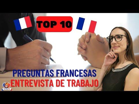 15 Preguntas Comunes en una Entrevista de Trabajo en Francés  🟦⬜🟥 📝📆  - ENTRETIEN D'EMBAUCHE 💬⁉